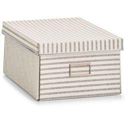 Pudełko ozdobne z kartonu, pojemnik do przechowywania, pudełko kartonowe ozdobne, pudełka dekoracyjne, pudełka tekturowe, ZELLER