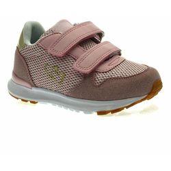 Buty sportowe dla dzieci American Club ES27/21 Pudrowe