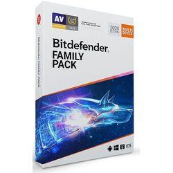 Oprogramowanie antywirusowe BitDefender Family Pack 3Y - BDFP-N-3Y-NL- Zamów do 16:00, wysyłka kurierem tego samego dnia!