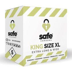 Prezerwatywy XL - Safe King Size XL Condoms 5 szt