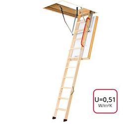 Schody strychowe Fakro LWT 70x140