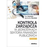 Biblioteka biznesu, Kontrola zarządcza w jednostkach sektora finansów publicznych (opr. broszurowa)