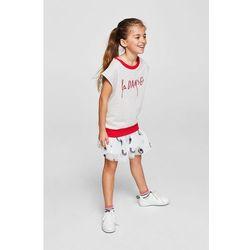 Mango Kids - Spódnica dziecięca Dust 104-152 cm