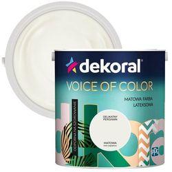 Farba Dekoral Voice of Color delikatny pergamin 2,5 l