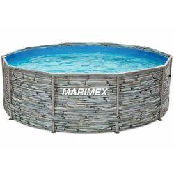 Marimex basen Florida 3,05 × 0,91 m, bez filtracji, motyw kamienia (10340245)