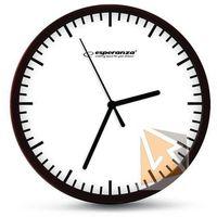 Zegary, Esperanza Zegar ścienny Budapest biały (EHC010W) Darmowy odbiór w 21 miastach!