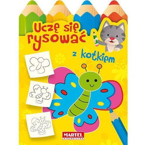 Książki dla dzieci, Uczę się rysować z kotkiem - Praca zbiorowa (opr. miękka)