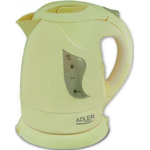 Czajniki elektryczne, ADLER AD 08 B - Czajnik elektryczny 1,0 L, beżowy