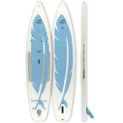 Indiana SUP 11'6 Feather Inflatable SUP Board, biały/niebieski 2021 Deski SUP