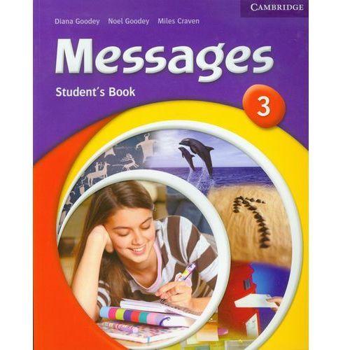 Książki do nauki języka, Messages, Level 3, Student's Book (podręcznik) (opr. miękka)