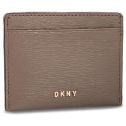 Etui na karty kredytowe DKNY - Bryant Sutton Card Holder R92Z3C09 Mushroom MUR