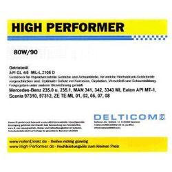 High Performer 80W/90 GL4/5 Getriebeöl 20 Litr Kanister