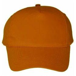 Czapka bejsbolówka z daszkiem i regulacją - orange