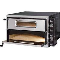 Piece i płyty grzejne gastronomiczne, Piec do pizzy dwukomorowy, 2x4 pizza 350 mm | GREDIL, 782002