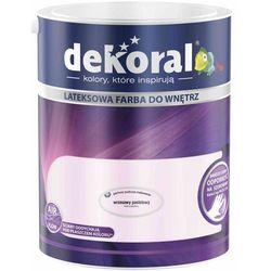 Farba Lateksowa Akrylit W Kolor Wrzosowy Pastelowy 5l Dekoral