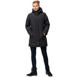JACK WOLFSKIN Płaszcz outdoor 'SVALBARD' czarny