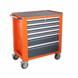 Wózek warsztatowy WWT 75B narzędzia na kółkach 6 szufladowy