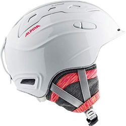 ALPINA SNOW MYTHOS WHITE-FLAMING - kask narciarski snowboard R. 55-59 cm