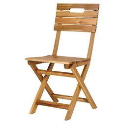 Krzesło składane GoodHome Denia 53 x 40 x 87 cm