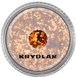 Kryolan POLYESTER GLIMMER COARSE (ORANGE) Gruby sypki brokat - ORANGE (2901)