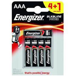 4+1 x bateria alkaliczna Energizer Alkaline Power LR03/AAA (blister)