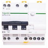 Pozostała elektryka, Schneider Wyłącznik różnicowo-prądowy iDPN Vigi 4P B 16A 30mA typ AC A9D55716