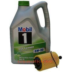 Filtr + olej Mobil 1 ESP Formula 5W30 Dodge Journey 2,0TD