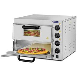 Piec do pizzy - 3000 W - 2 komory -? 40 cm ROYAL CATERING 10010832 RCPO-3000-2PS-1