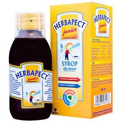 Herbapect junior, syrop, 100 ml