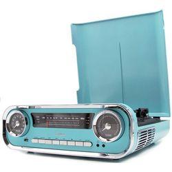 Gramofon LAUSON 01TT18 Retro Niebieski