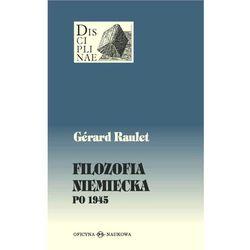 Filozofia niemiecka po 1945 (opr. twarda)