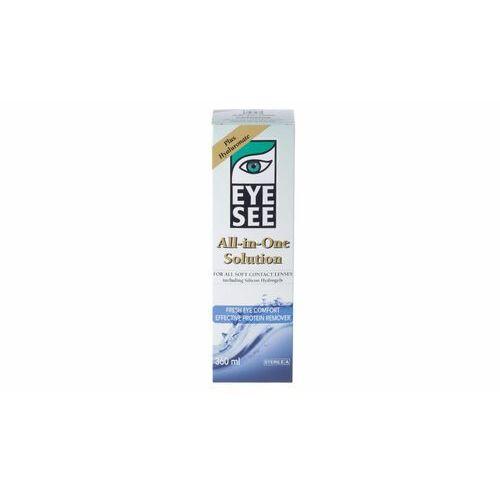 Płyny pielęgnacyjne do soczewek, EYE SEE z hialuronianem 360 ml