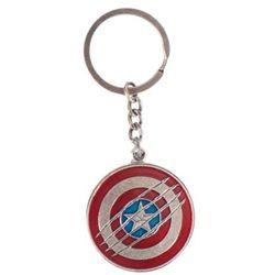 Brelok GOOD LOOT Marvel Civil War Captain America Shield Key Ring