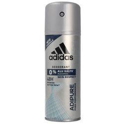 Adidas Men Adipure, 150 ml. Dezodorant 48H spray - Adidas OD 24,99zł DARMOWA DOSTAWA KIOSK RUCHU