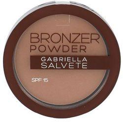Gabriella Salvete Bronzer Powder puder brązujący SPF 15 odcień 03 8 g