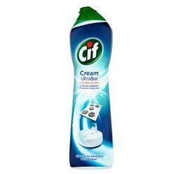 Mleczko do czyszczenia powierzchni Cif Cream UltraBiel z wybielaczem i mikrokryształkami 693 g