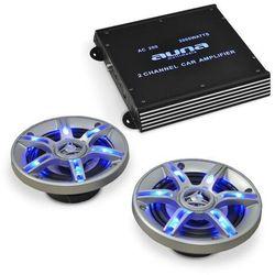 """Electronic-Star """"BeatPilot FX-202s"""" zestaw do auta głośniki ze wzmacniaczem"""