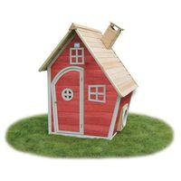 Domki i namioty dla dzieci, Domek cedrowy dla dzieci EXIT FANTASIA 100 / czerwony/