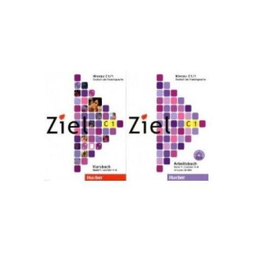 Książki do nauki języka, Ziel C1 Band 1 Pakiet - Kursbuch + Arbeitsbuch + CD-ROM Hueber (opr. miękka)
