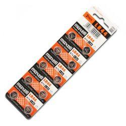 10 x bateria alkaliczna mini Maxell G13 / AG13 / L1154 / LR44/157 / V13GA / RW82 / A76