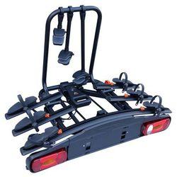 Aguri Active Bike 3 Black Bagażnik rowerowy na hak do przewozu 3 rowerów - czarny - 3 \ Czarny