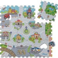 Pozostałe zabawki dla najmłodszych, Chicco, mata puzzle Miasto