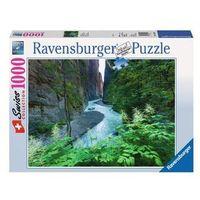 Puzzle, Ravensburger 1000 EL. Aareschlut w Szwajcarii
