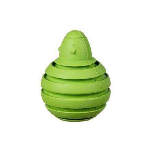 Pozostałe zabawki, Myszka bombka kauczukowa na przysmaki L - green