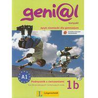 Książki do nauki języka, Genial kompakt 1B, Podręcznik z ćwiczeniami plus CD (opr. broszurowa)