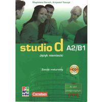 Książki do nauki języka, Studio d A2/B1 język niemiecki zeszyt maturalny z płytą CD (opr. miękka)