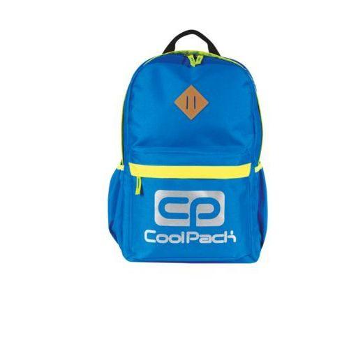 Tornistry i plecaki szkolne, Plecak młodzieżowy CoolPack Neon niebieski