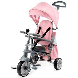 KinderKraft rowerek trójkołowy Jazz różowy