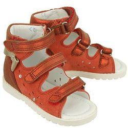 BARTEK 81803 czerwony, obuwie profilaktyczne dziecięce, rozmiary: 21-26 - Czerwony
