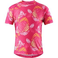 Reima Ionian Koszulka do pływania Dziewczynki, candy pink 128 2019 Stroje kąpielowe Przy złożeniu zamówienia do godziny 16 ( od Pon. do Pt., wszystkie metody płatności z wyjątkiem przelewu bankowego), wysyłka odbędzie się tego samego dnia.